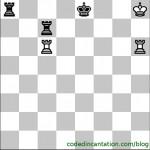 Black to move. Mate in 1 move.