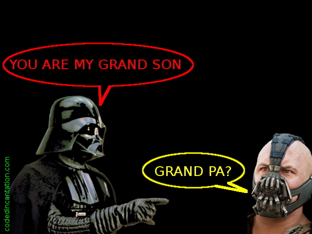 Darth Vader's Grandson