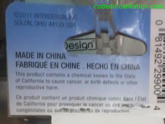 Soap holder description