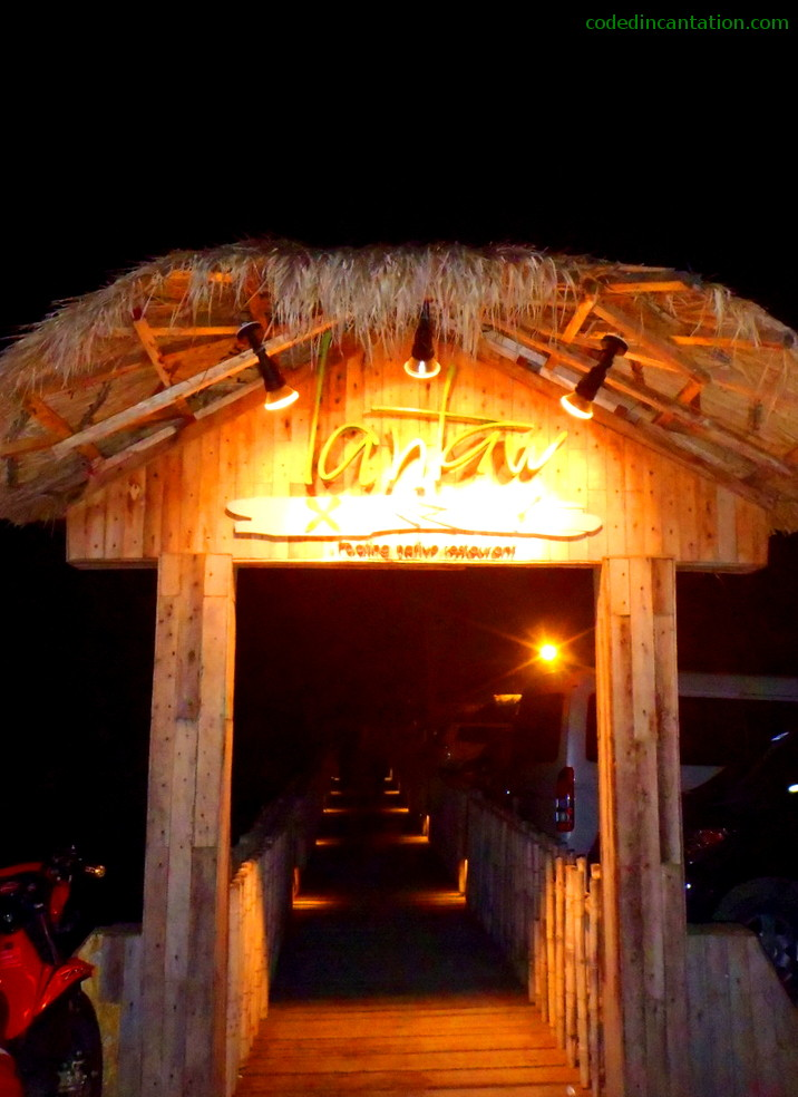 Gate of the Floating Restaurant