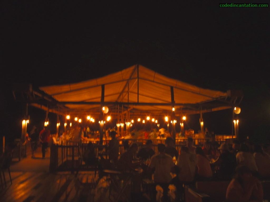 Tent-less Area @ Lantaw, floating restaurant
