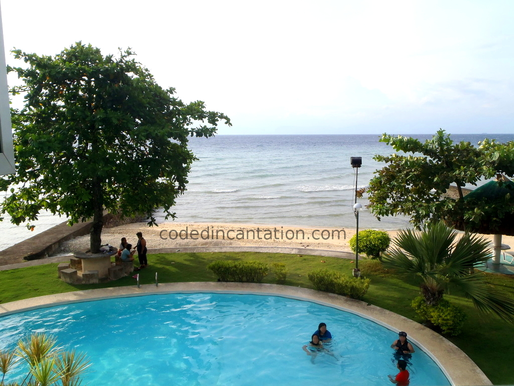 Trip to Badian: Swimming Pool and Beach