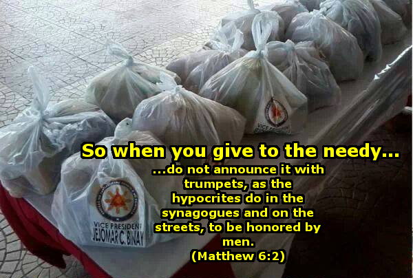 Giving as stated by the bible.