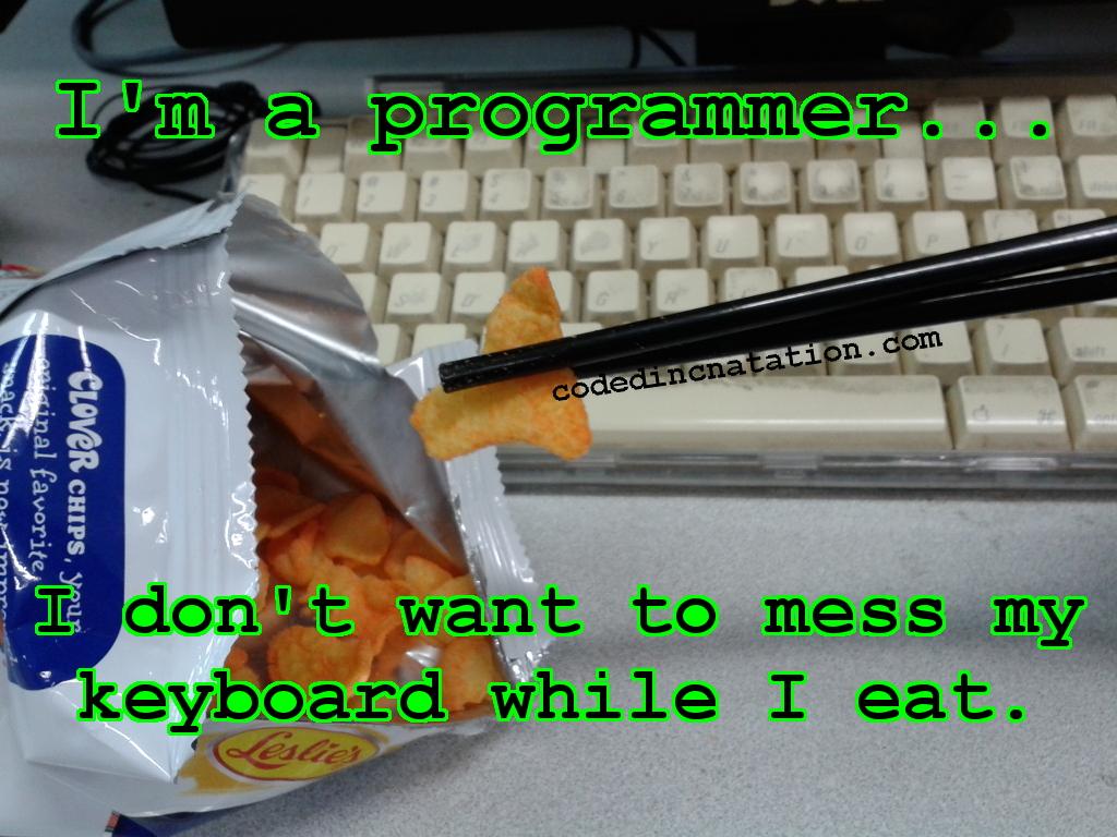 The eating programmer
