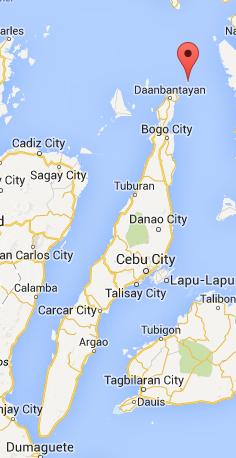 Bantayan Island Philippines Map