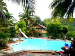 First after reception. Hidden Paradise Mountain Resort