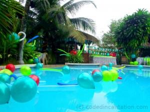 Top swimming pool. Hidden Paradise Mountain Resort