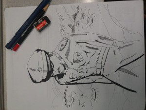 The making of Heneral Antonio Luna Sketch