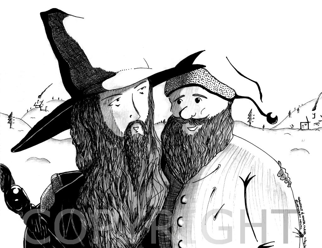 Gandalf and Santa Claus