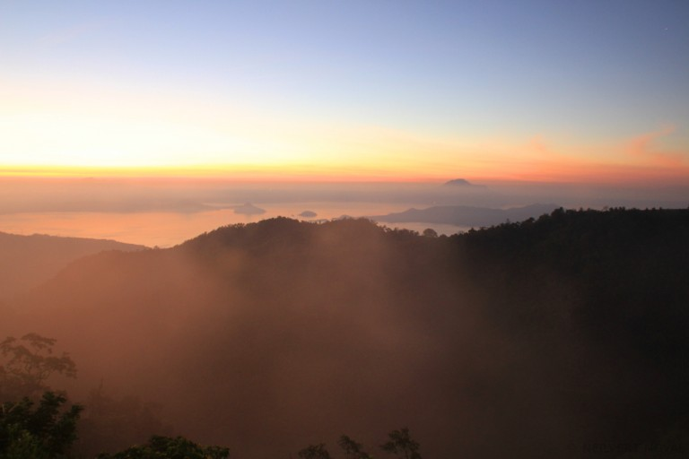Tagaytay: Sunrise Wallpaper