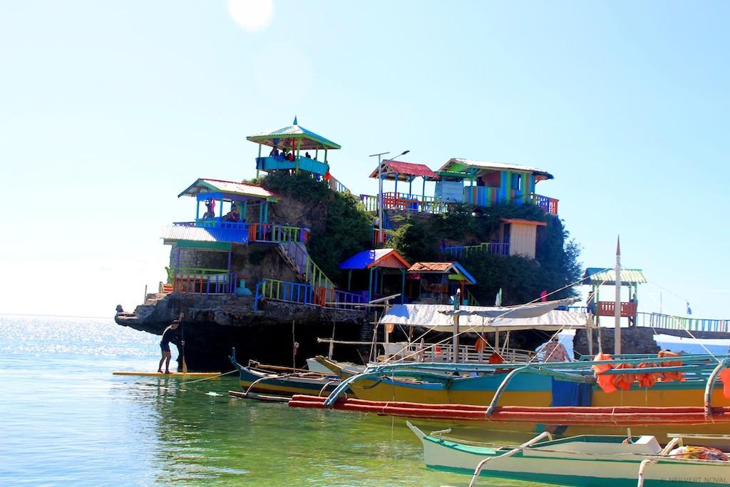 Cottages. Cebu's Funtastic Island.
