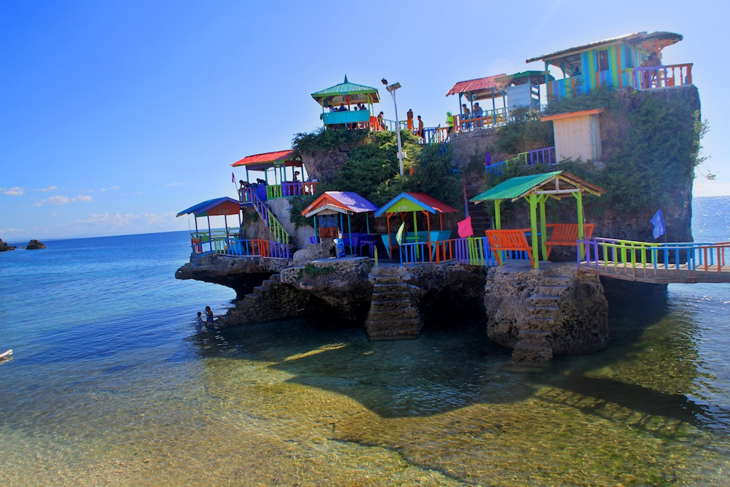 Cottages. Cebu's Funtastic Island.