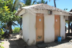 Bathroom or toilet room. Kalaggaman Island