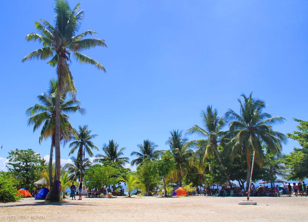 Tent. Kalaggaman Island