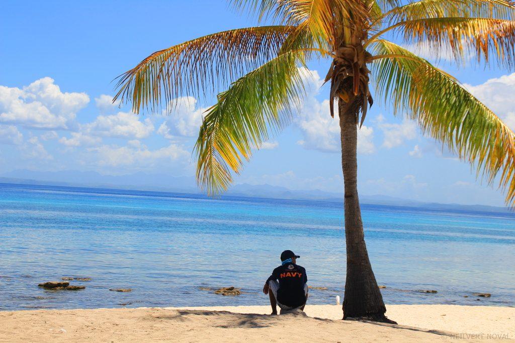 Guard. Kalaggaman Island