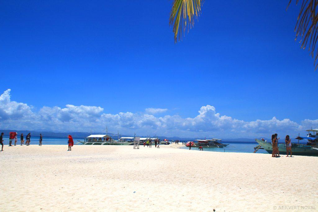 Docking. Kalaggaman Island