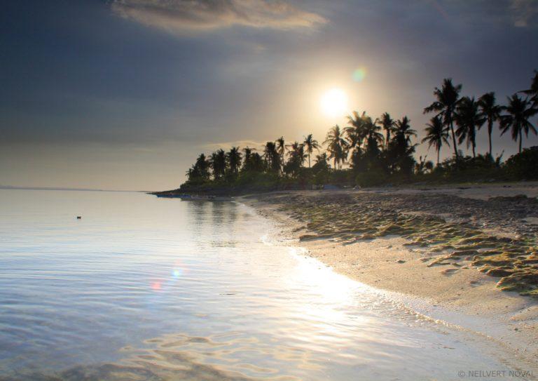 Sun. Kalaggaman Island.
